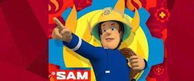 Feuerwehrmann Sam Partydeko