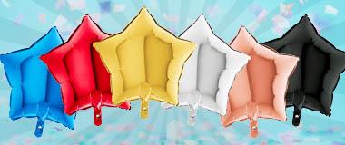 Sternballons klein