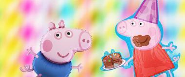 Peppa Pig Partydeko