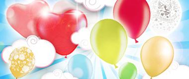 Latexballons Luftballons