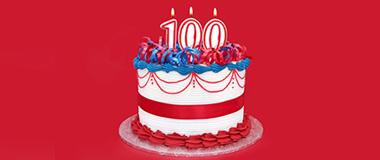 100. Geburtstag