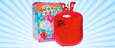 Helium Einwegzylinder