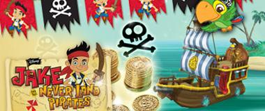 Jake Pirat Partydeko