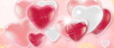 Herz-Ballons Latex
