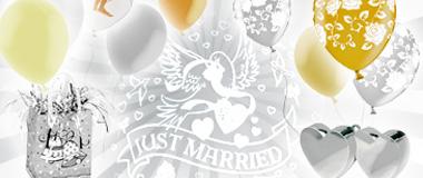 Hochzeits-Ballons