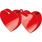 Ballongewicht Doppelherz Rot 170g