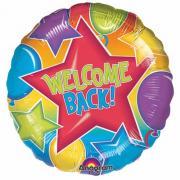 Folienballon Welcome Back ø45cm
