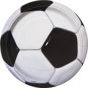 Pappteller Fussball 23cm 8 Stück