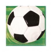 Servietten Fussball 33x33cm 16 Stück