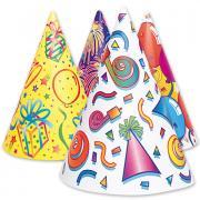 Partyhüte Fancy 8 Stück
