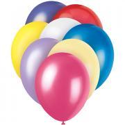 Latexballons Pastell bunter Mix 30cmø 8 Stück