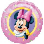 Folienballon Minnie Portrait ø45cm