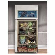 Kühlschrank-Folie Horror 30x61cm