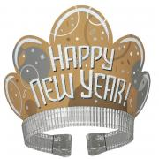 Tiara Haarreif Happy New Year Bubbly 1 Stück