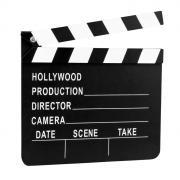 Filmklappe Hollywood 18x20cm