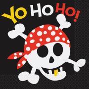 Servietten Piraten Spaß 33cm 16 Stück
