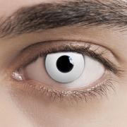 Kontaktlinsen White Zombie Weiss