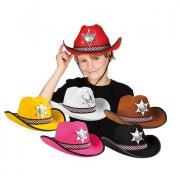 Hut Cowboy Kinder Sheriff
