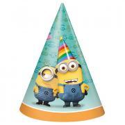 8 Partyhüte Minions