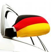 2 Auto-Spiegelflaggen Deutschland