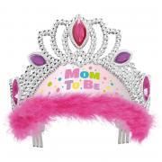 Tiara Mom To Be Pink