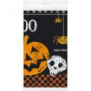 PVC-Tischdecke Checkered Halloween 137x213cm