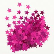Konfetti Metallic Sterne Pink 14g