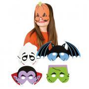 Maske Augenmaske Kinder Schauergesicht