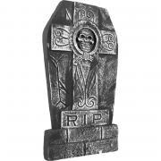 Grabstein Skull cross R.I.P. 27x50cm