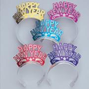 Tiara Happy New Year Glitzer