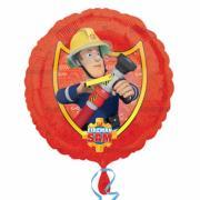 Folienballon Feuerwehrmann Sam ø45cm