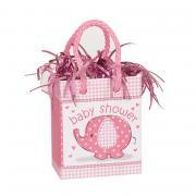 Ballongewicht Tüte BabyShower Elefant Pink  170g