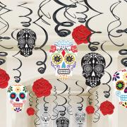 Swirldeko-Set Day of the Dead 30-teilig