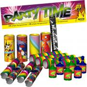 Partyset Party Time 19-tlg. Jugendfrei