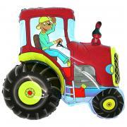 Miniloon Traktor Rot