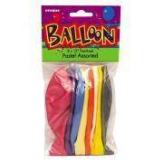 Latexballons Pastell Bunt 30cmØ 10 Stück