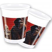 Plastikbecher Star Wars VII 200ml 8 Stück