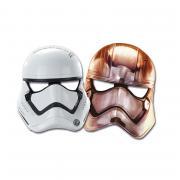 Masken Star Wars VII 6 Stück