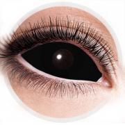 Kontaktlinsen Sclera Schwarz 22mm