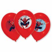 Latexballons Spider-Man ø28cm 6 Stück