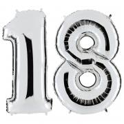 Riesenzahlen #1 + #8 Silber