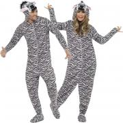 Kostüm Zebra Jumpsuit M