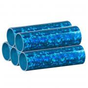 Luftschlangen Blau Metallic 5 Rollen