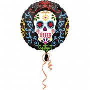 Folienballon Halloween Day of the Dead