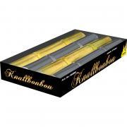 4 Knallbonbons Gold & Silber 18cm