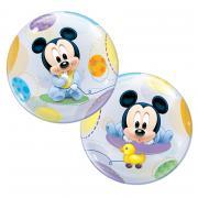 Bubble Ballon Micky Maus Baby