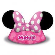 Partyhüte Minnie Maus Ohren 6 Stück