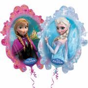 Folienballon Eiskönigin Anna & Elsa 63x78cm