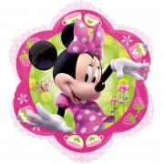 Folienballon Minnie Maus Blume ø46cm