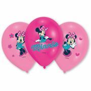 Latexballons Minnie Maus ø28cm 6 Stück
